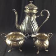 Европейский серебряный Чайный набор