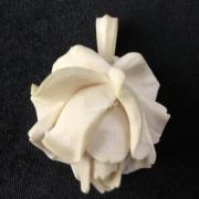 Кулон Роза из кости