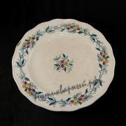тарелка старинная. XIX век