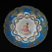 Антикварная тарелка. ИФЗ. 1903 год