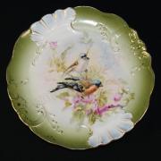 Тарелка старинная декоративная. Европа