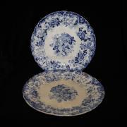 тарелки. гарднеръ. середина XIX века