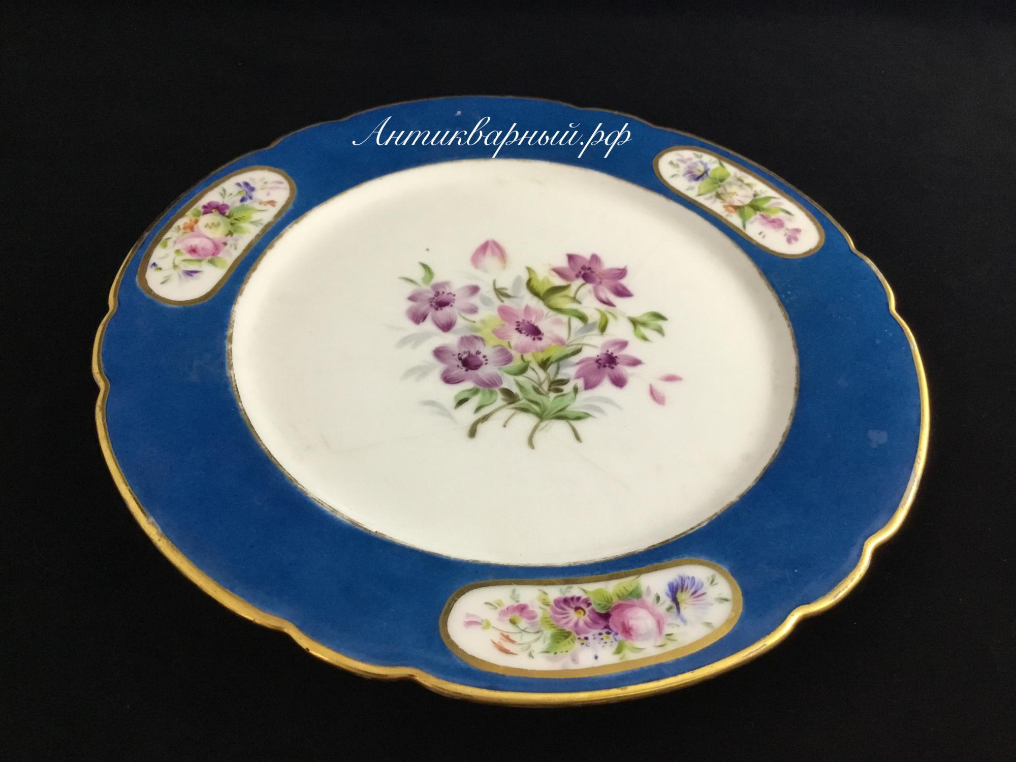 Декоративная тарелка.Ручная роспись