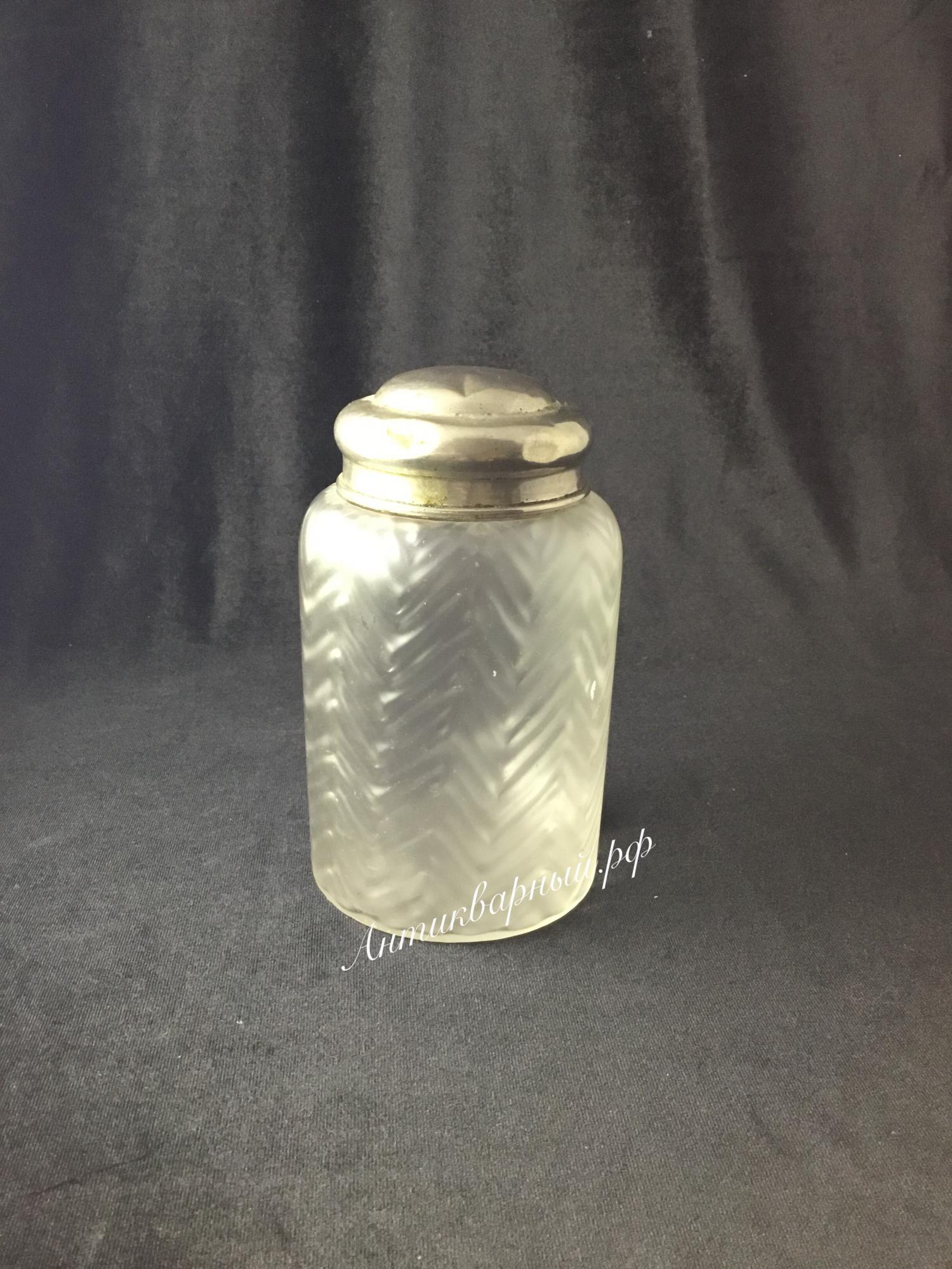 Чайница с матовым стеклом