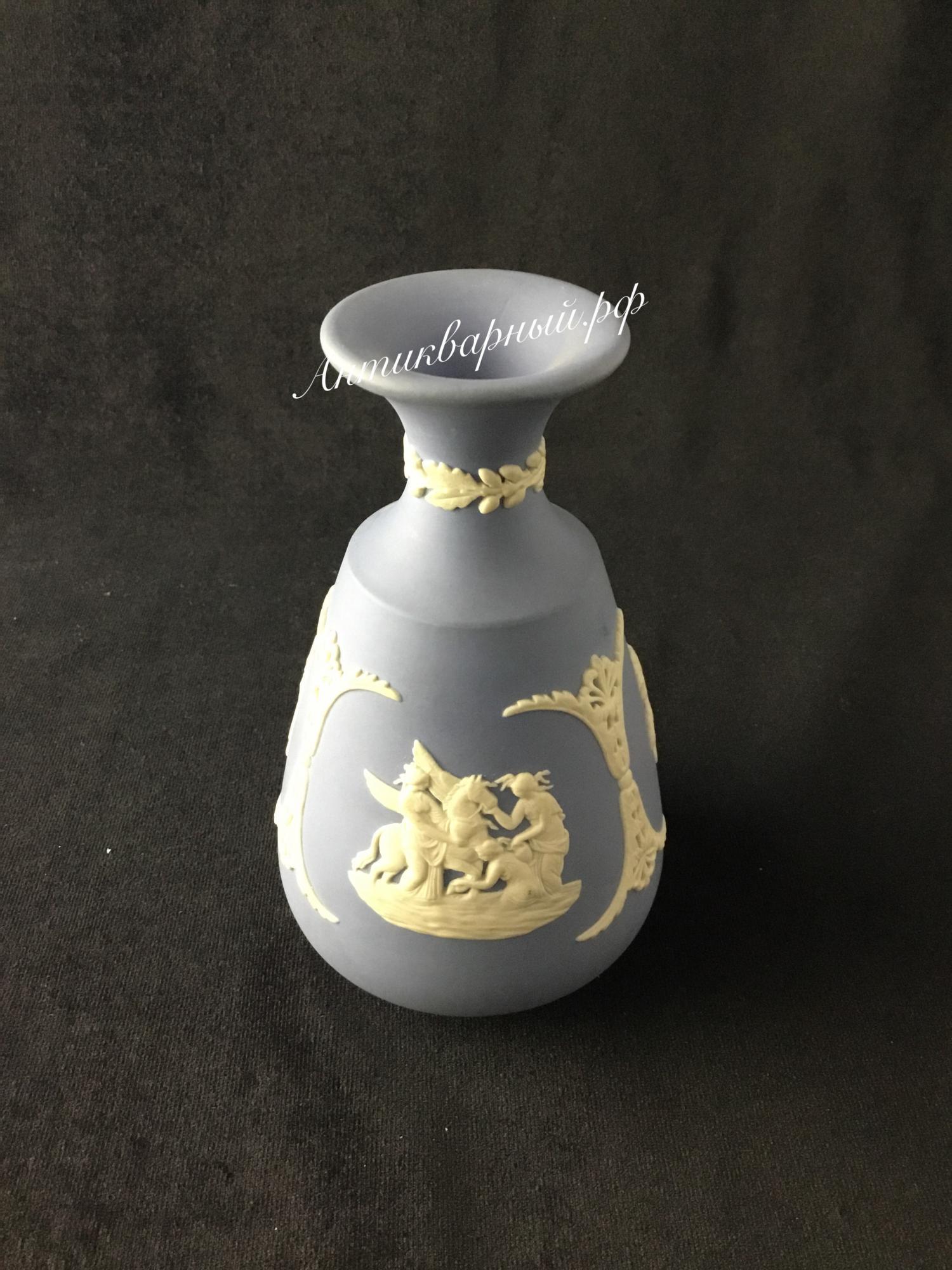 Бисквитная вазочка.Wedgwood.Англия