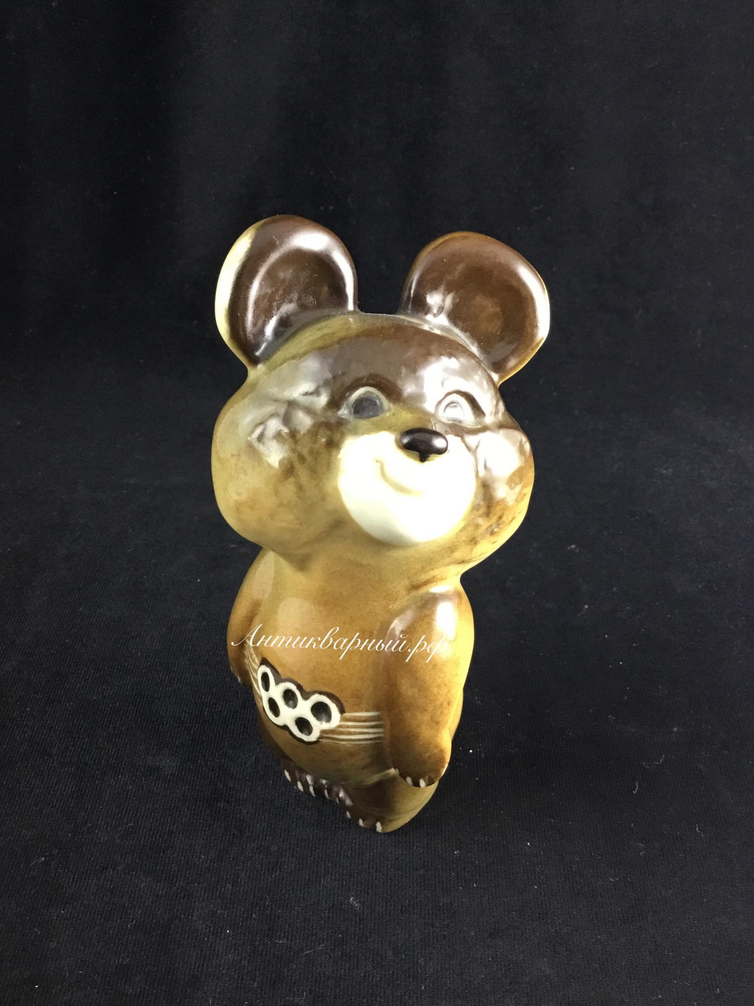 Статуэтка Олимпийский мишка.ЛФЗ