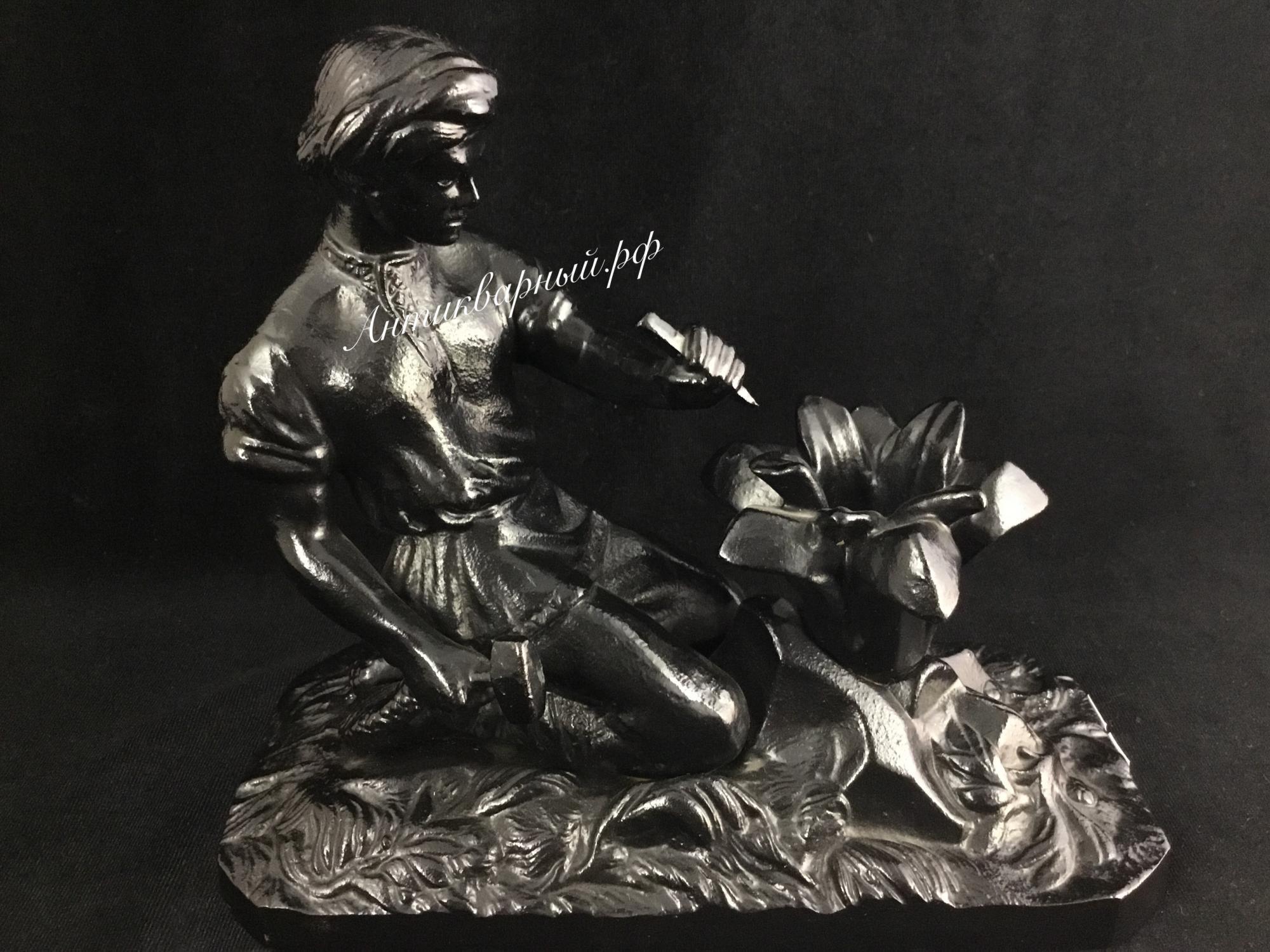 Скульптура Каменный Цветок. Чугун Касли