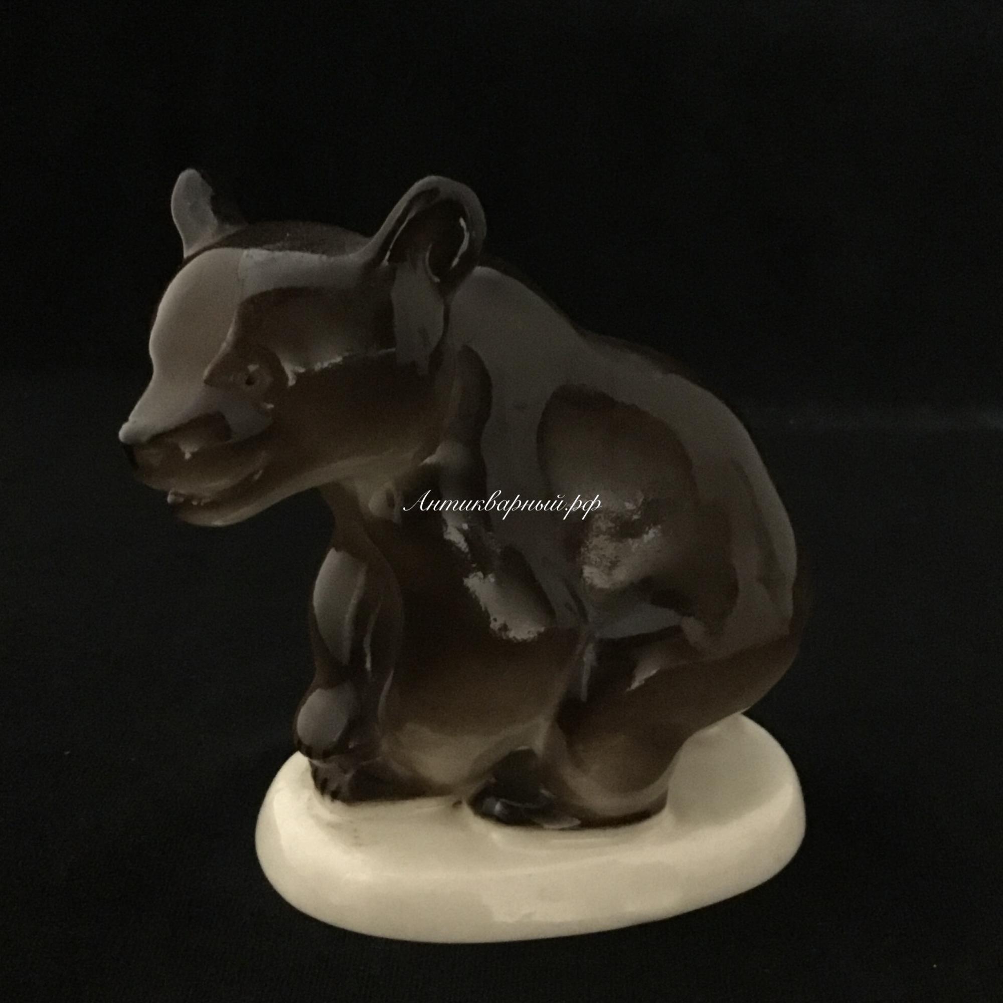 Статуэтка Бурый медведь ЛФЗ