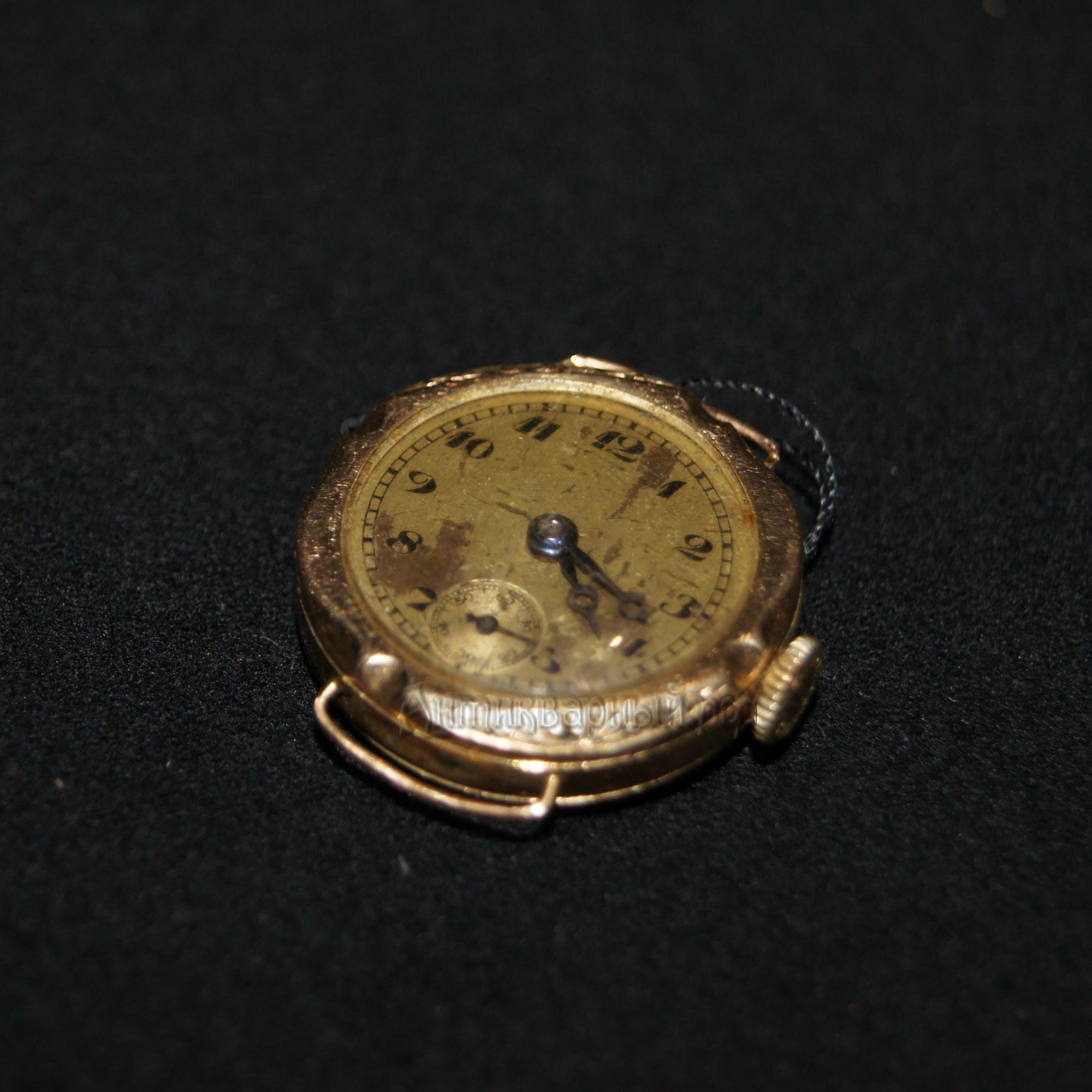 старинные золотые часы