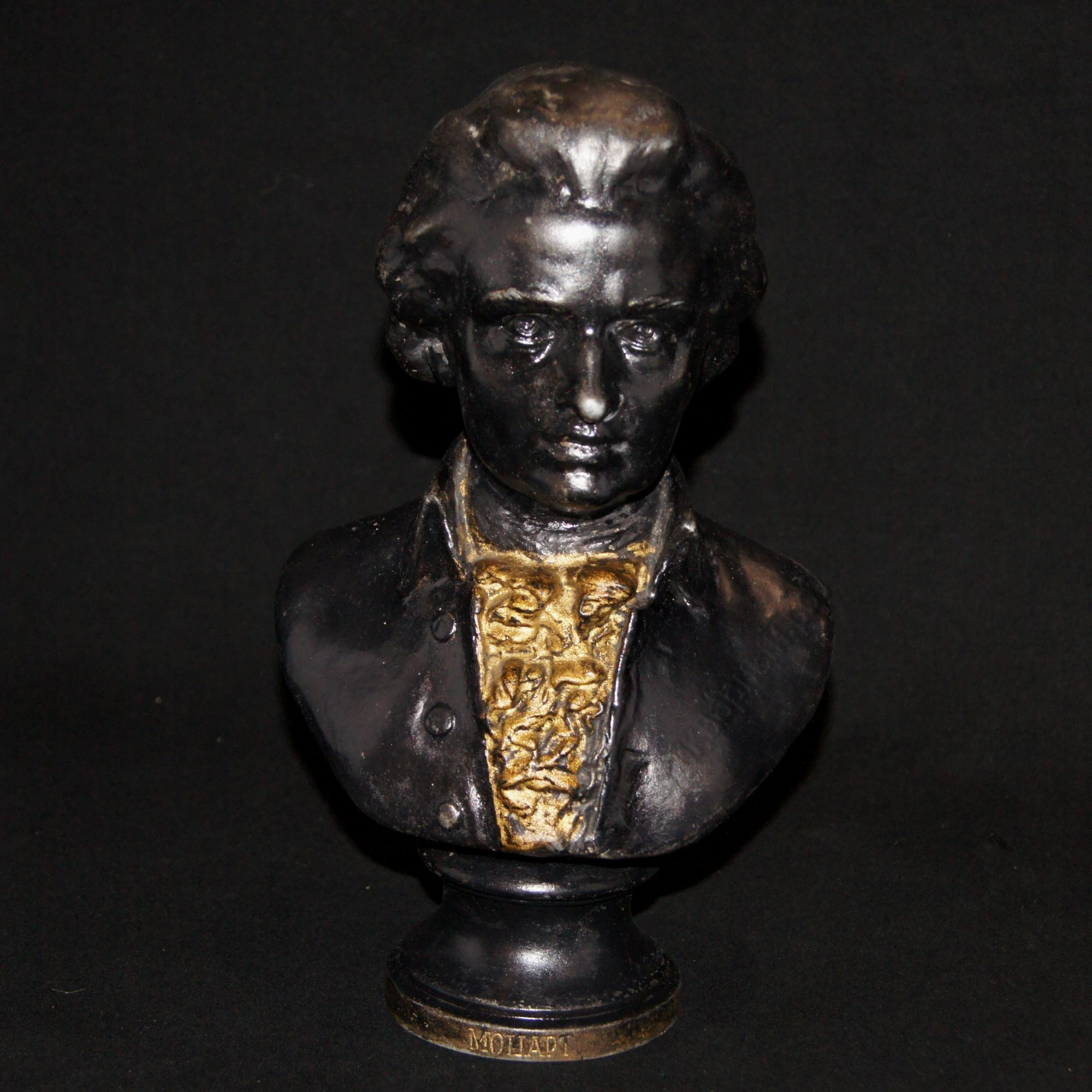 Бюст В.Моцарта