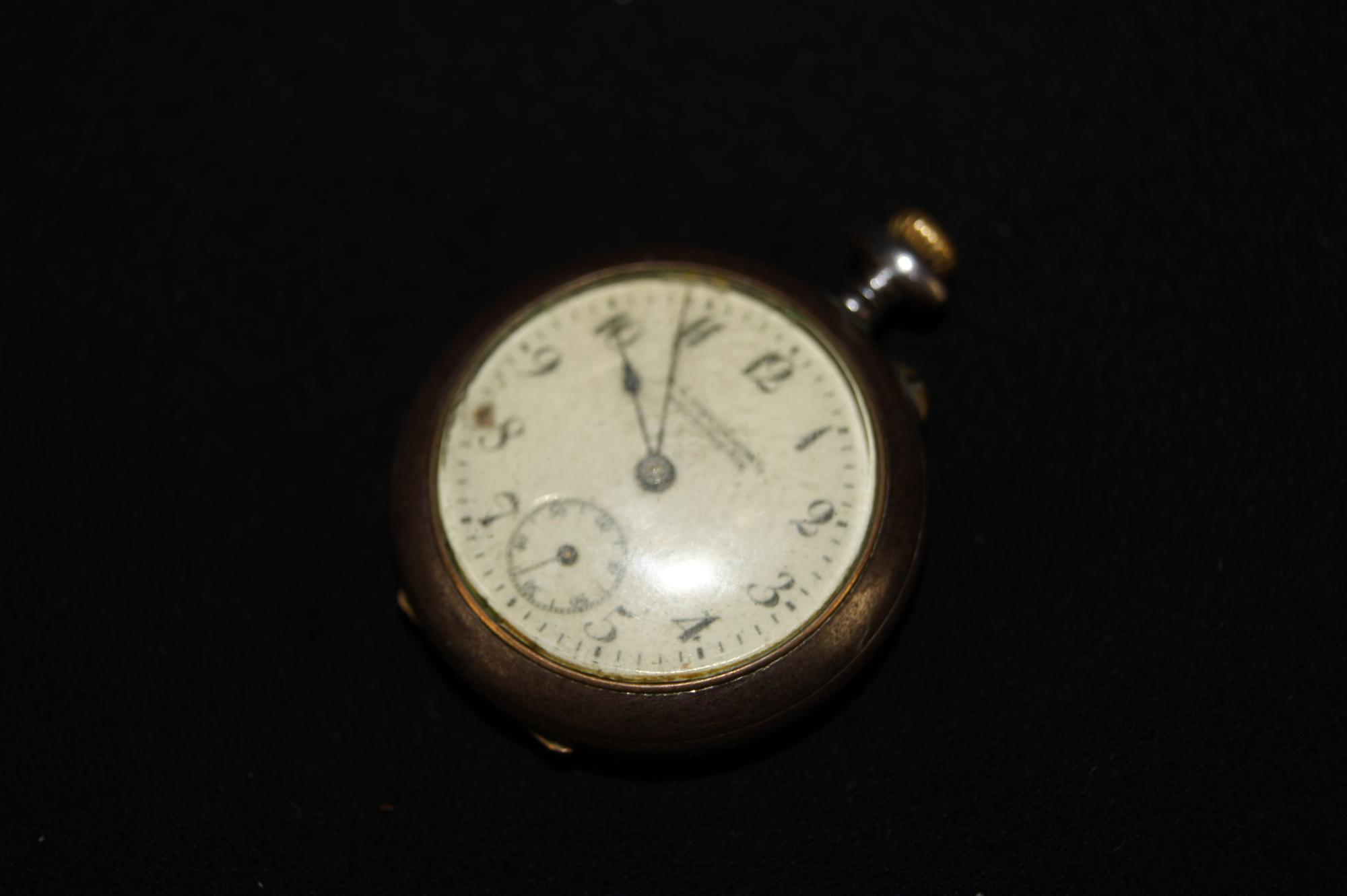 Антикварные карманные часы Ростовъ