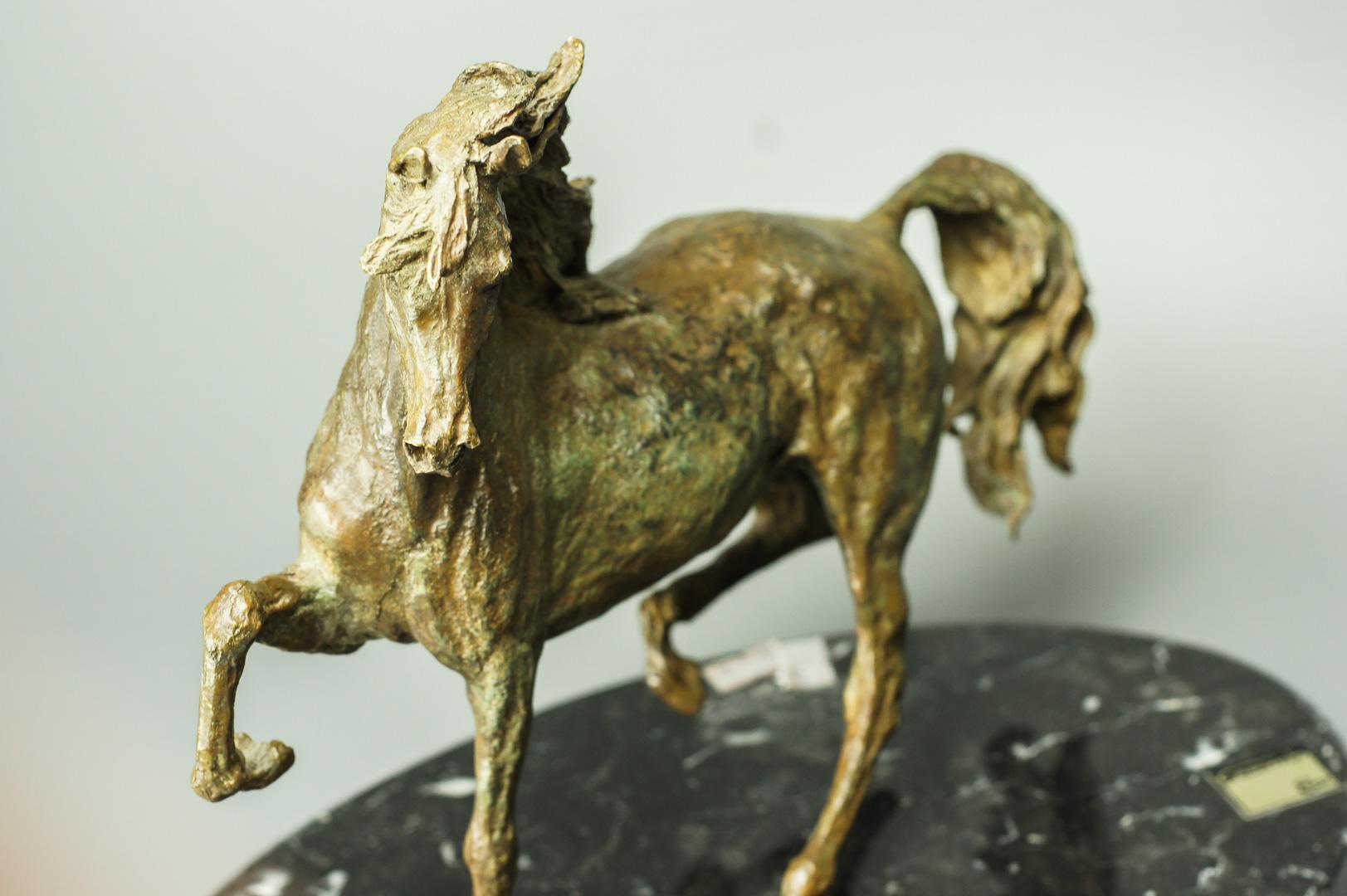 Скульптура бронзовая Конь Ebano