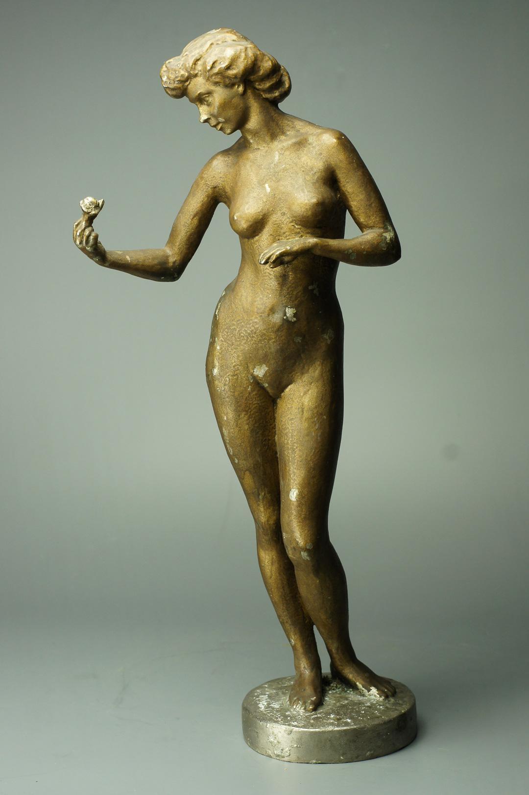 Скульптура Обнаженная, авторская