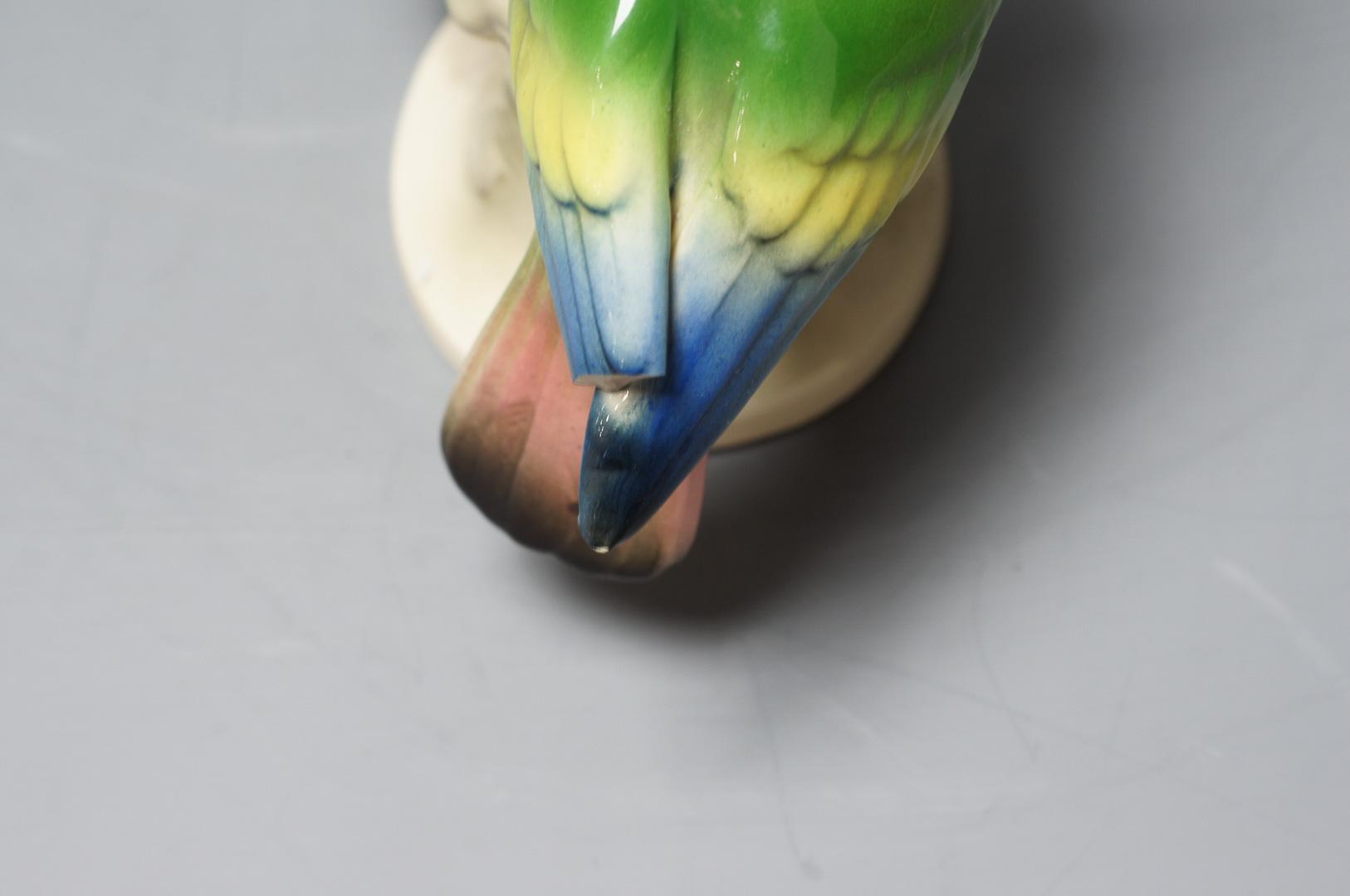 Статуэтка Попугаи, фарфор Германия