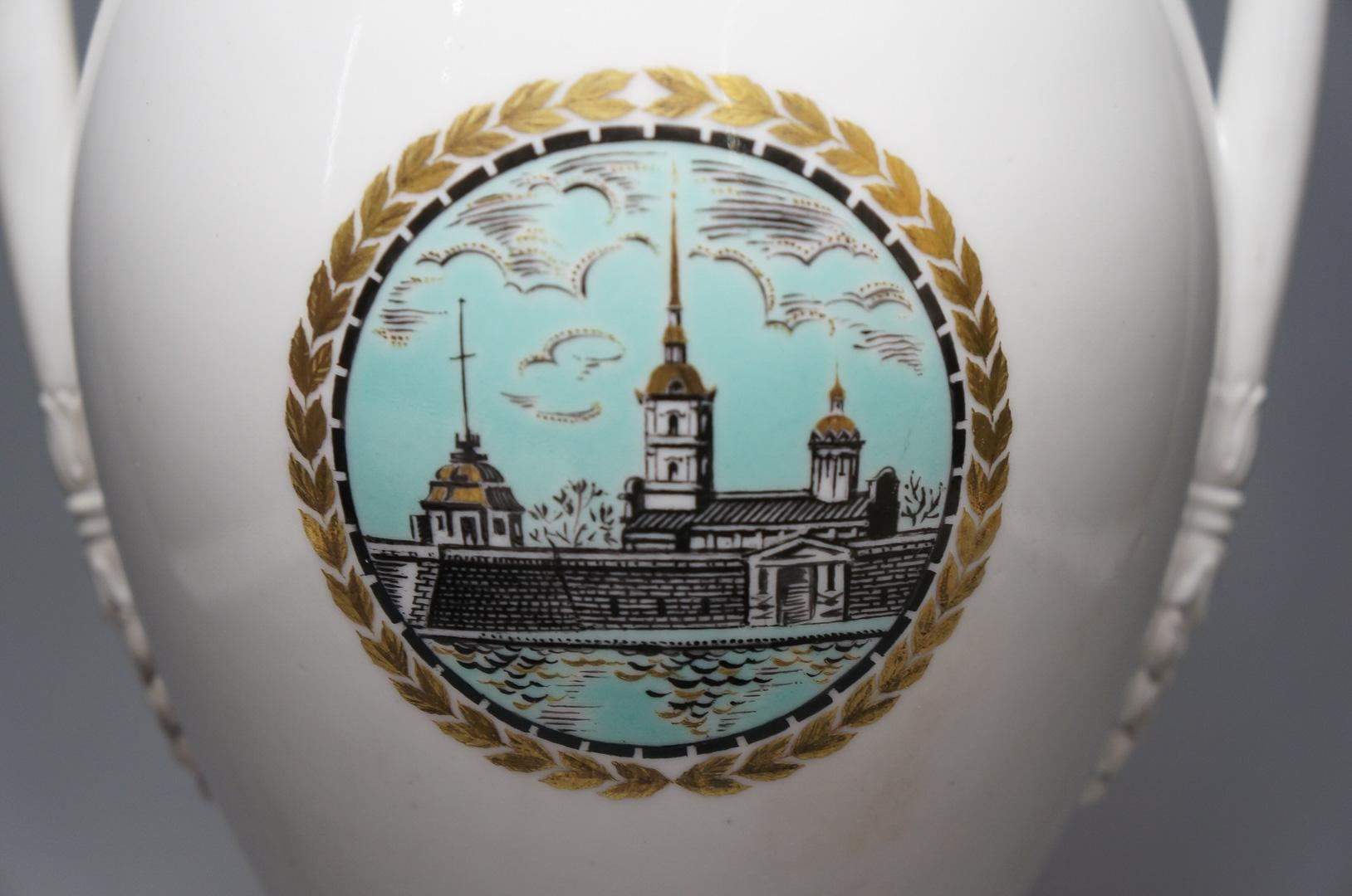 Ваза Петропавловская крепость Воронихин ЛФЗ