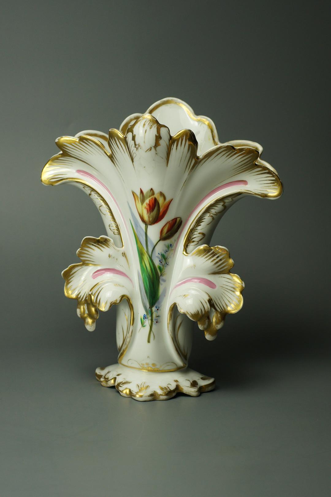 Ваза Тюльпаны фарфор Германия