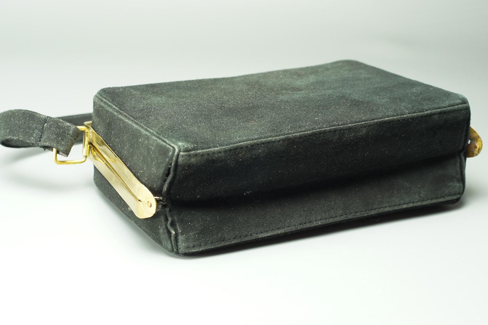 Сумочка винтажная с вышивкой 1950-е