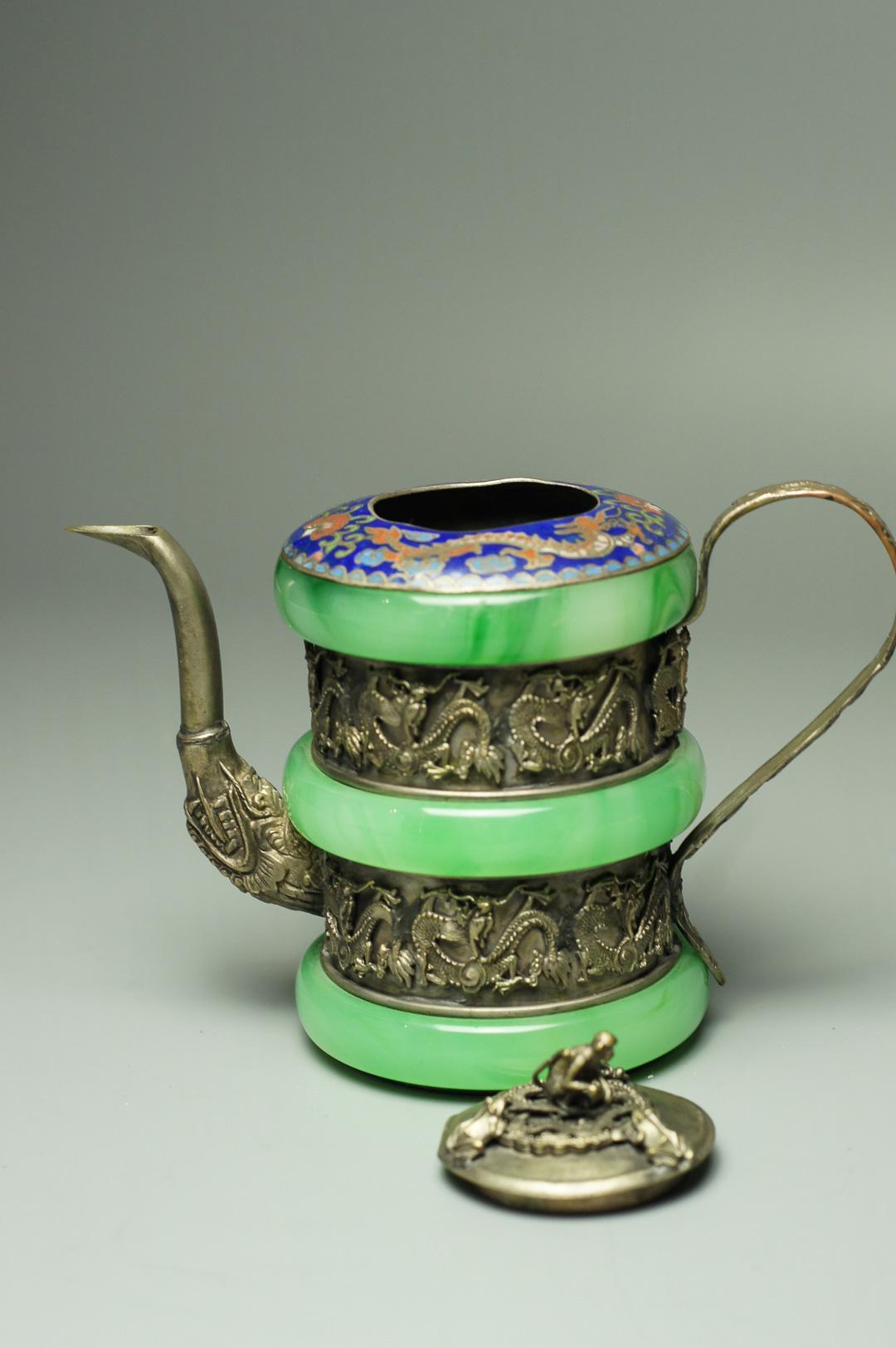 Чайник тибетский с обезьяной