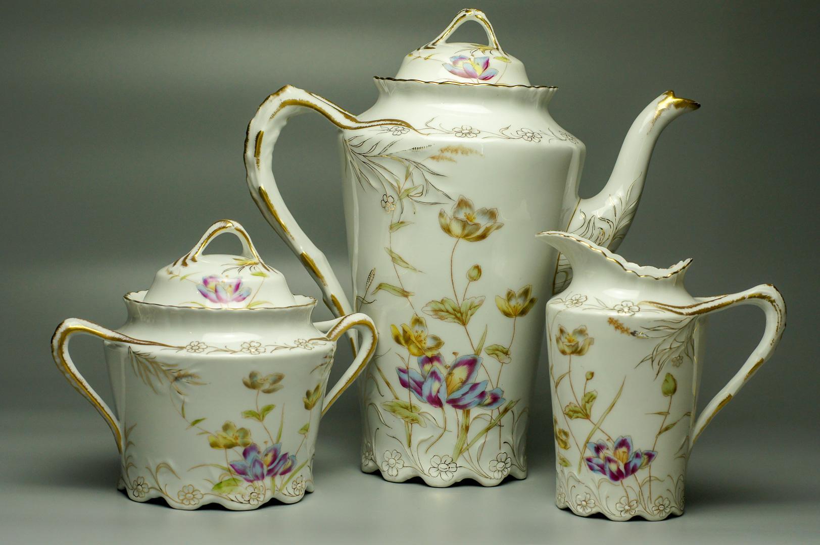 Набор чайно-кофейный Тюльпаны