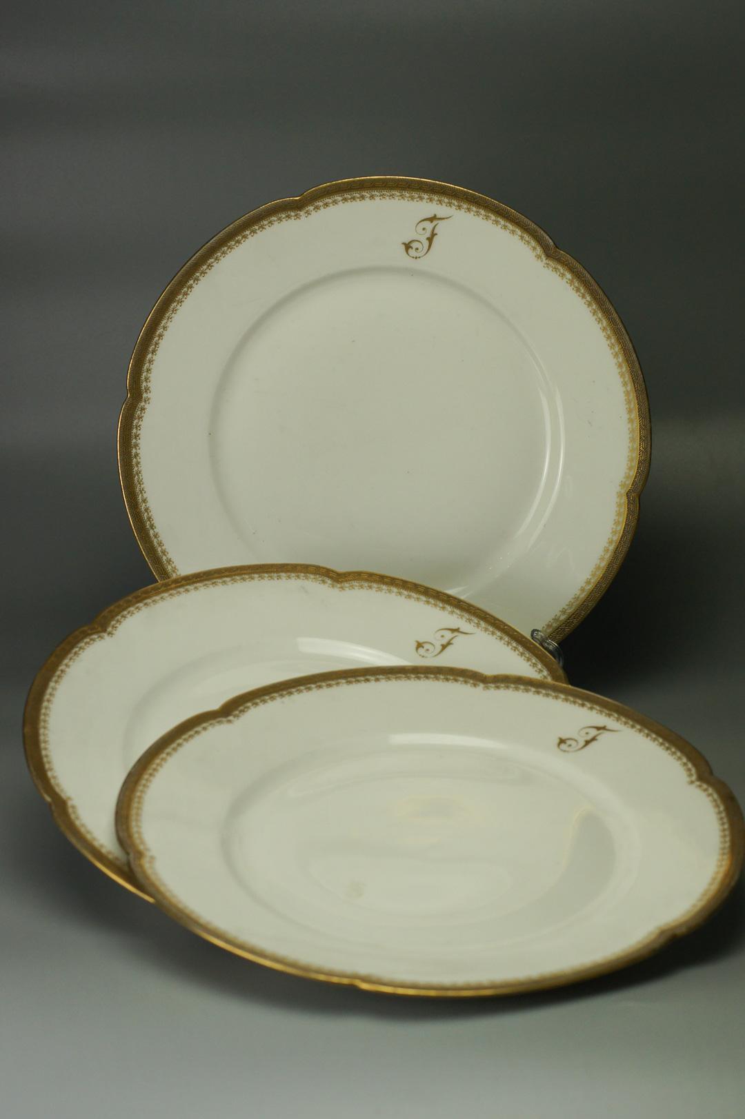 Три тарелки Лимож Теодор Хэвиленд