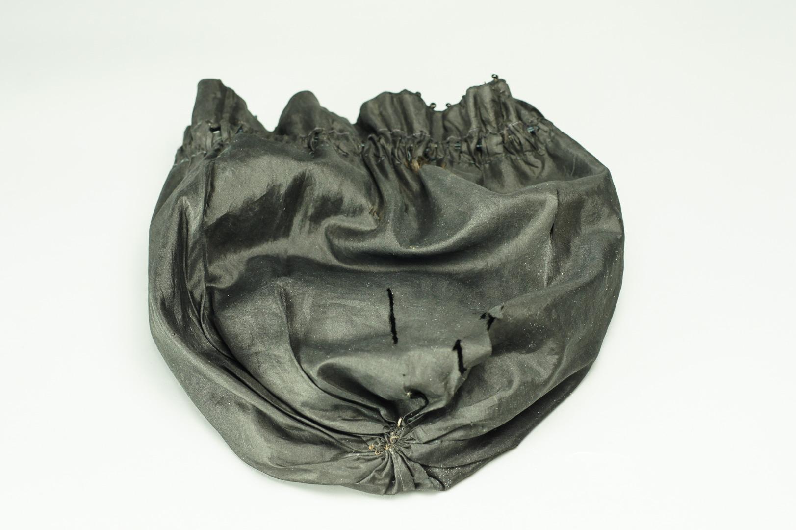 Сумочка-кисет черная