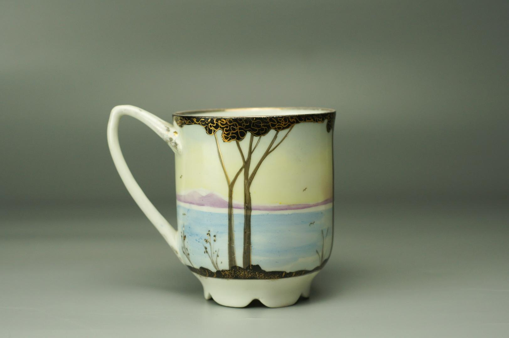 Чашка Море и сопки Бронницы