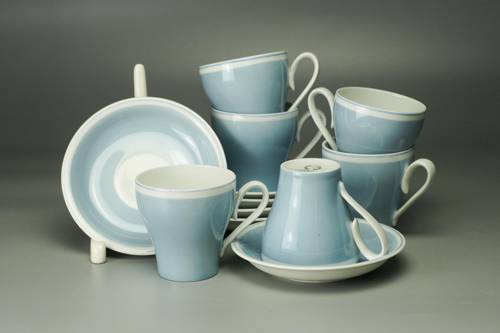 Кофейные пары голубые Райхенбах