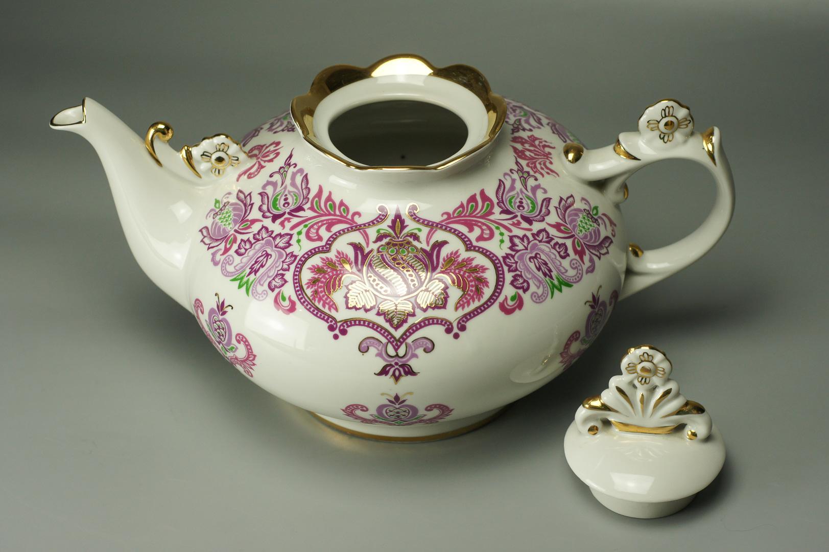 Чайники заварочный и доливной ЛОЗ