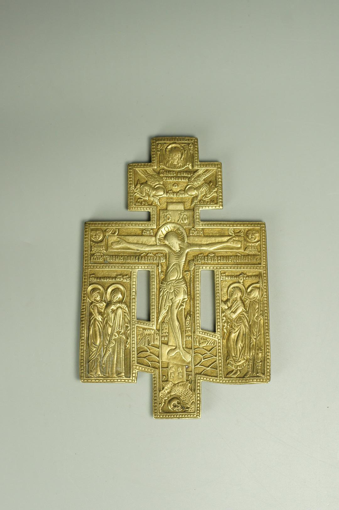 Крест киотный с предстоящими