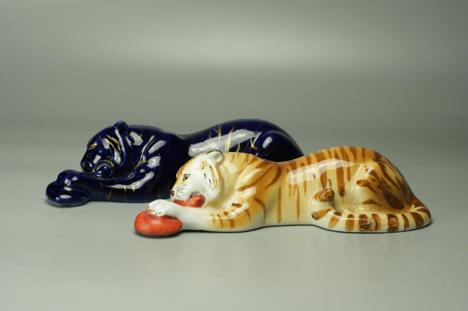 Статуэтка Тигр с мясом лфз