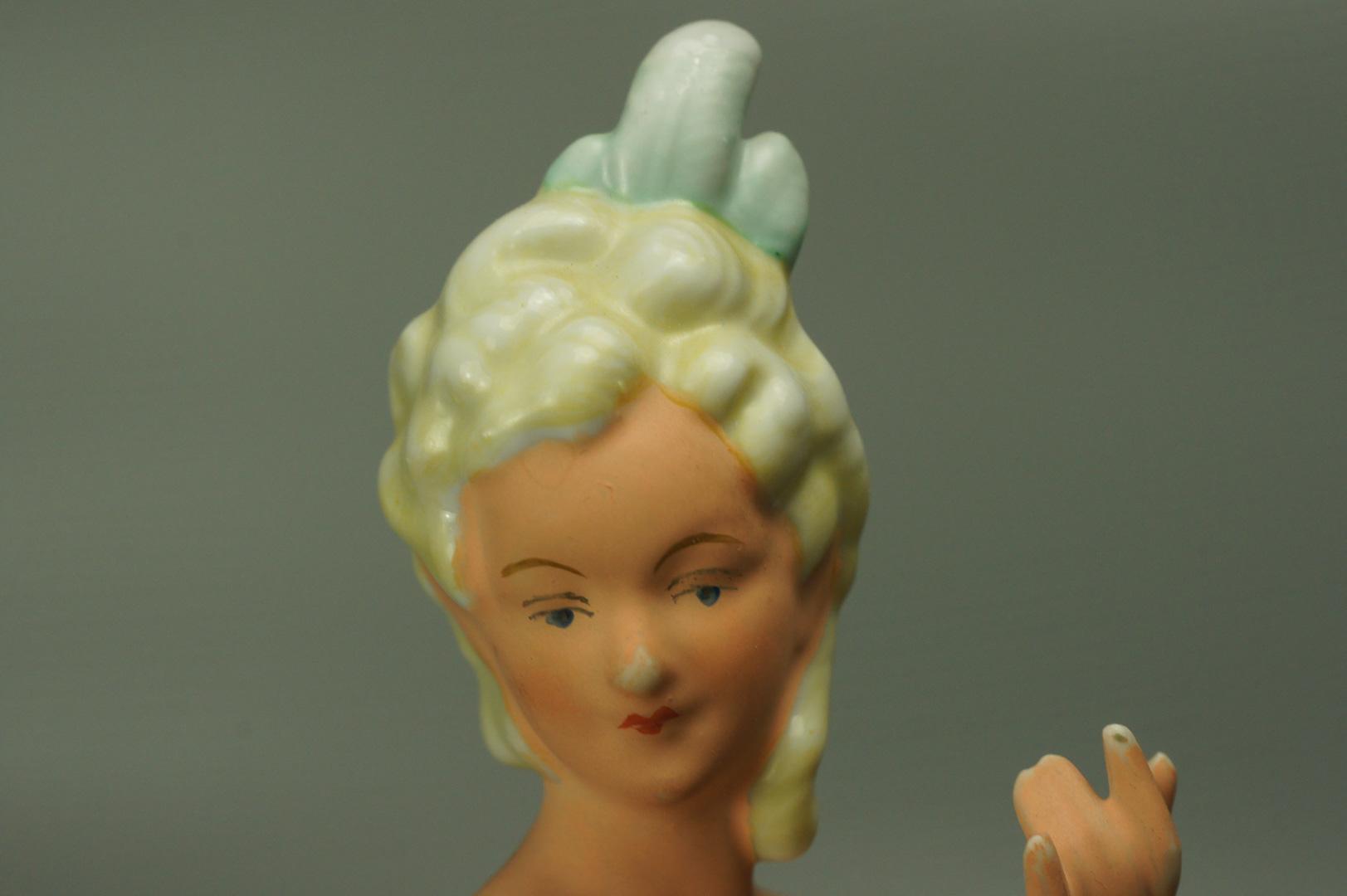 Статуэтка Балерина с зеркальцем (загорелая)