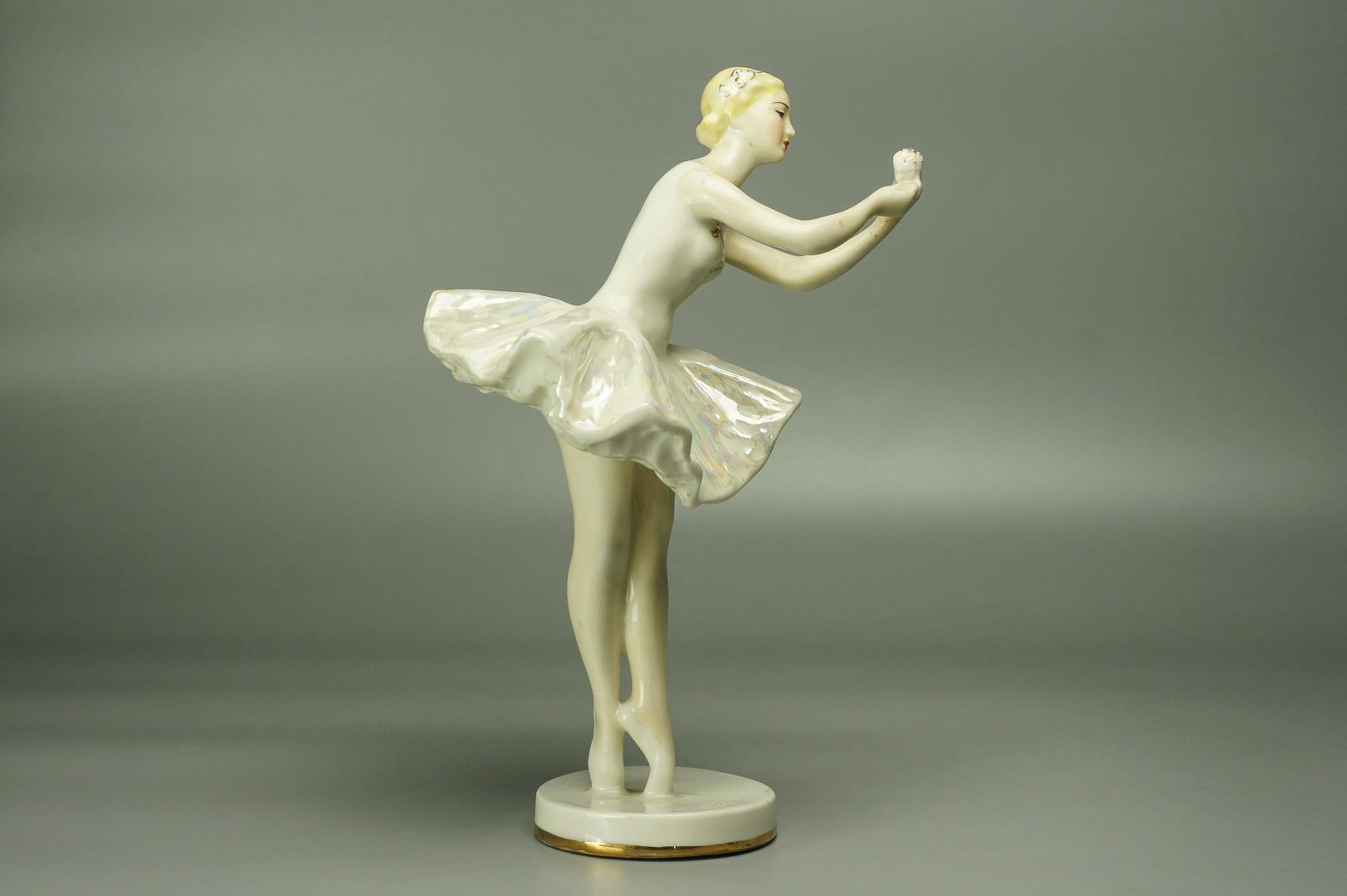 Статуэтка Балерина с цветком ЛЗФИ