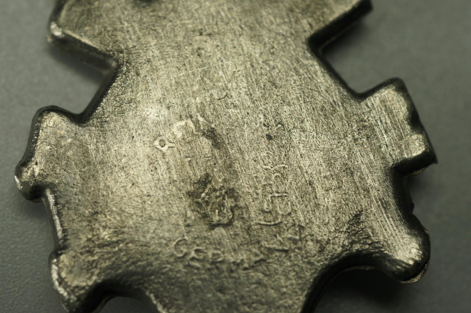 Бокал кружка с ложкой олово WMF