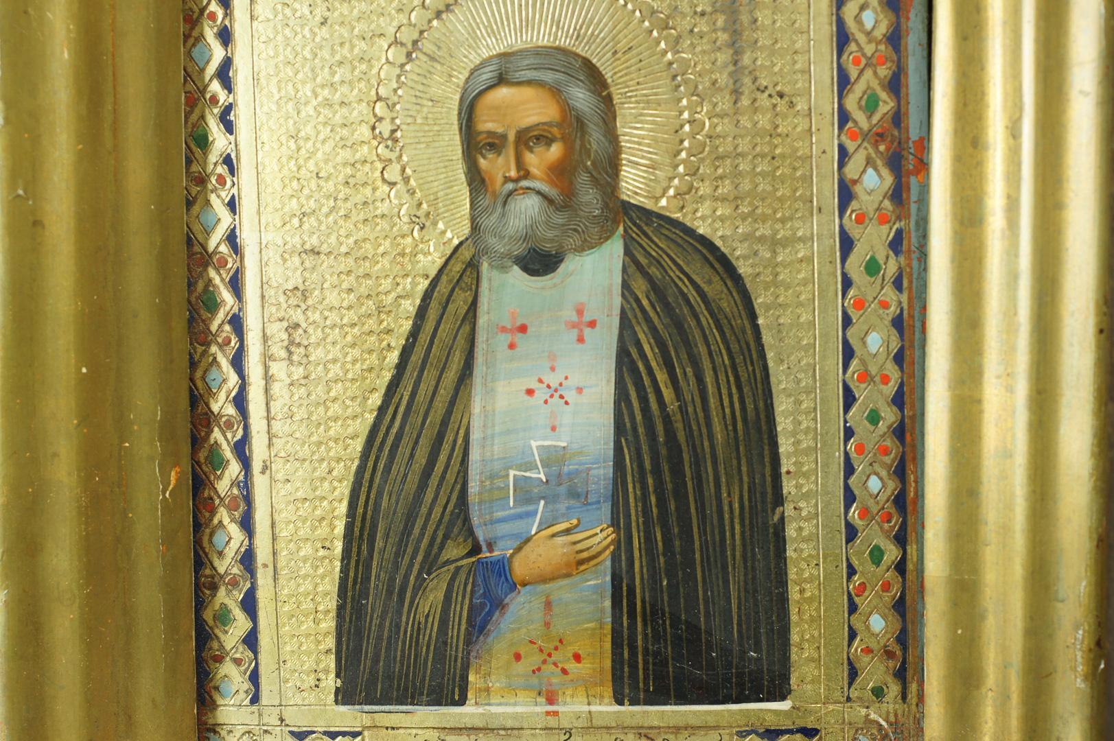 Икона Святой Серафим Саровский