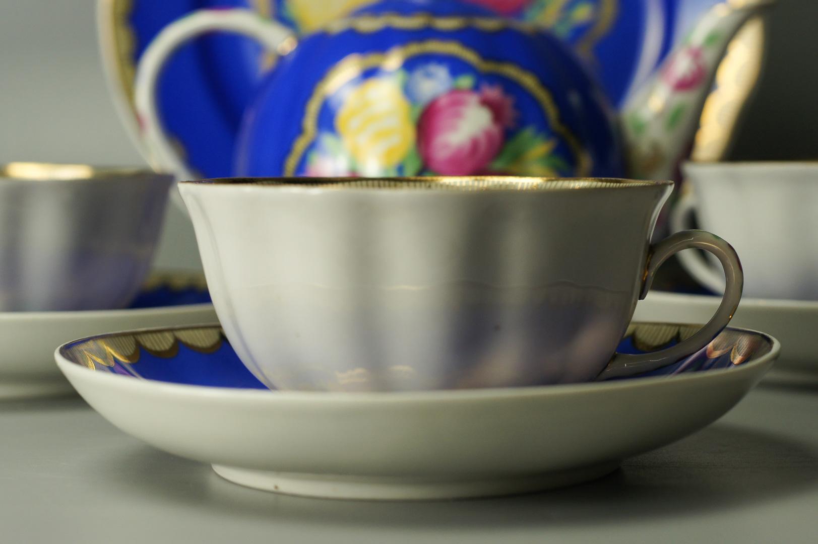 Чайный сервиз Красавица Дулево
