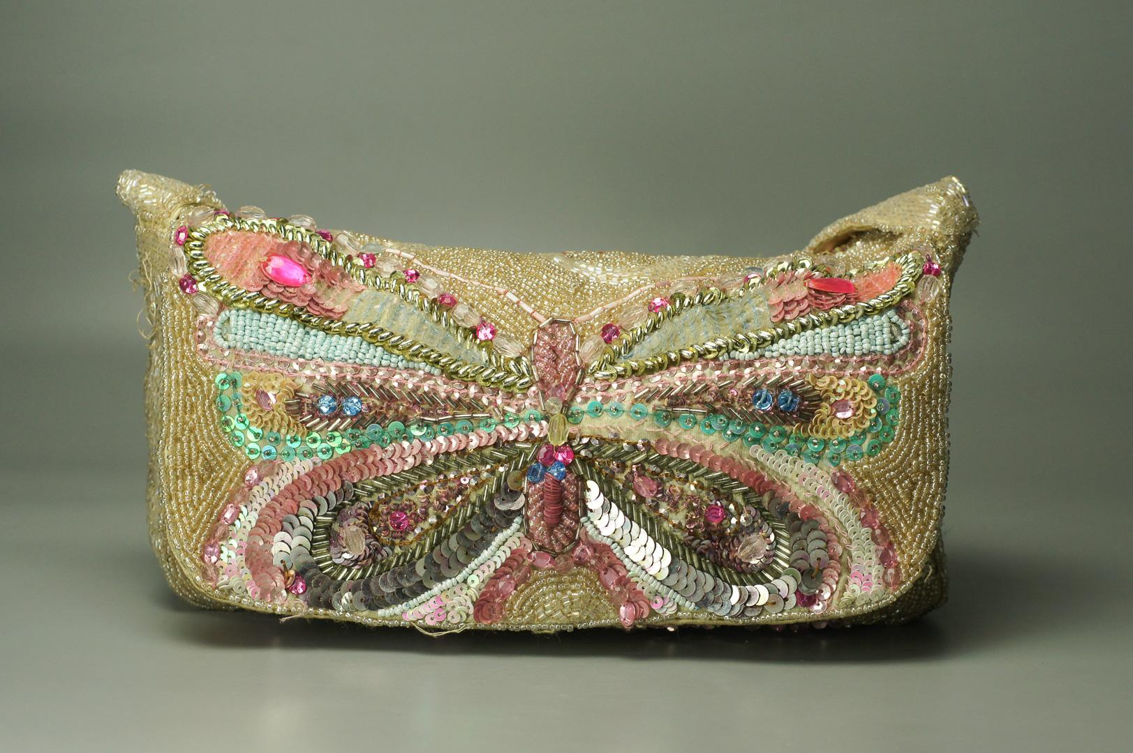 Винтажная сумочка Бабочка
