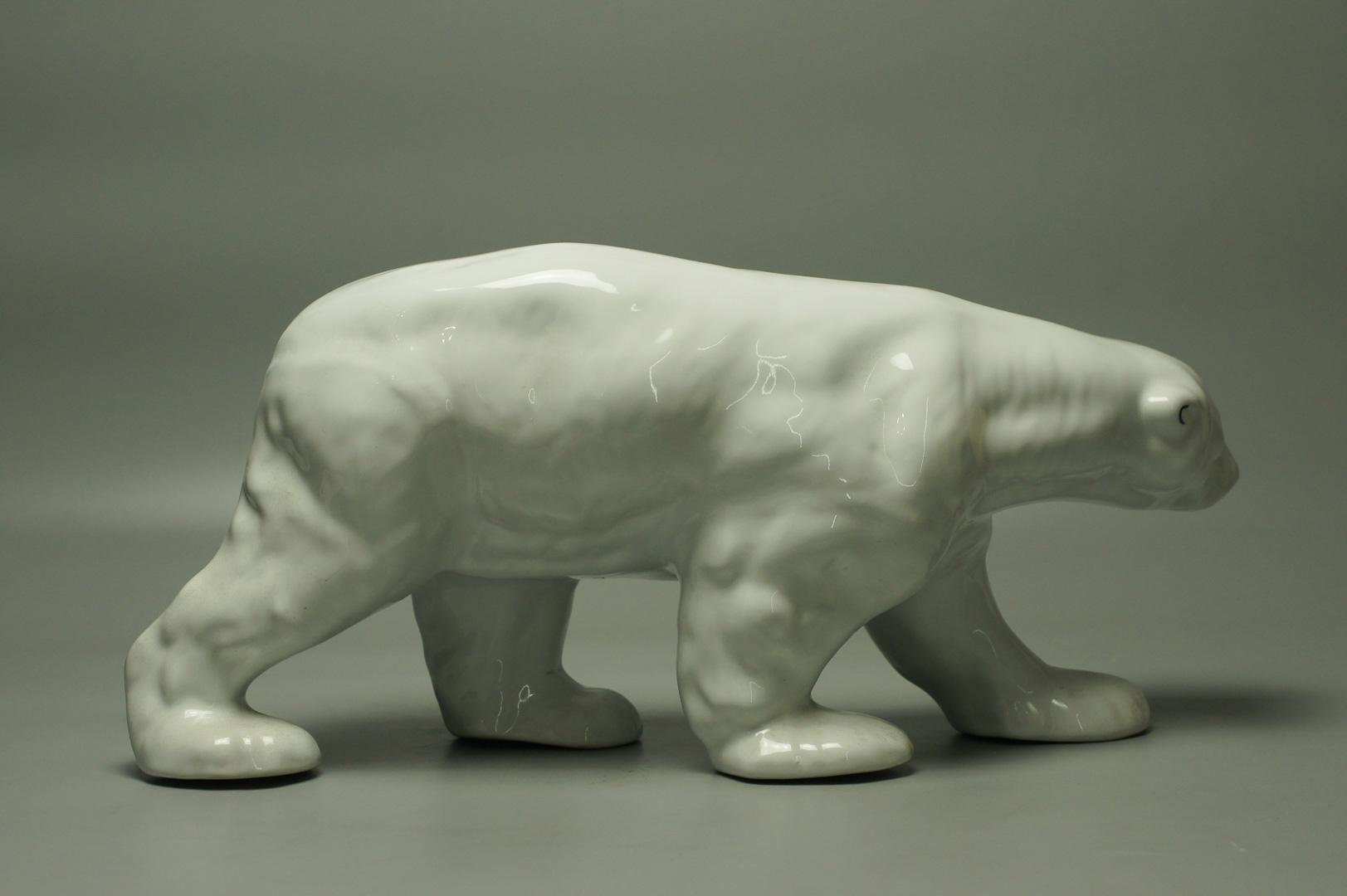 Статуэтка Медведь белый Конаково
