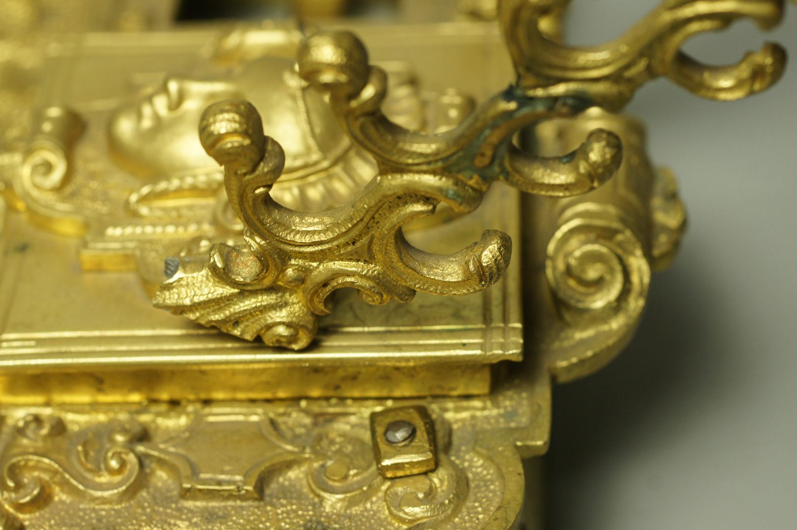 Письменный прибор бронза